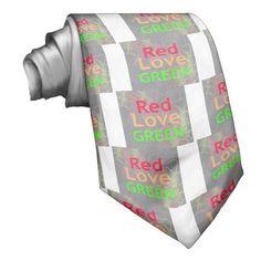 LIEBE-ROTES GOLDENES GRooN BEDRUCKTE KRAWATTE #Achempong #KRAWATTE  #Individual #Hakuna #Matata #hakunamatata #apparel #Clothing's #Children #Clothes #boys and #girls #cloth #Women's #Clothing  #Kleidung  #ties and #neckties