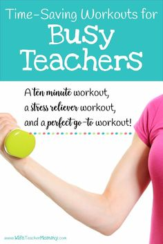 It's hard to find time to work out as a teacher. These time saving workouts for teachers are perfect for women who are busy balancing teaching and their families, but also care about their fitness! Great tips for those looking to increase their self-care. Fitness Workouts, You Fitness, Fitness Tips, Health Fitness, Fitness Goals, Fitness Shirts, Cardio Gym, Workout Tips, Fitness Motivation