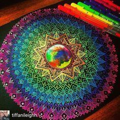 Mandala de colorinchis