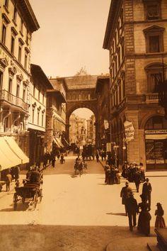 Via Strozzi towards Piazza Vittorio Emanuele