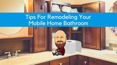 Tips For Remodeling Your Mobile Home Bathroom