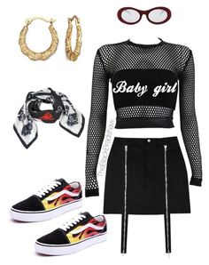 """""""Baby girl"""" by theblkbradshaw on Polyvore featuring Forever 21, PAM, Boohoo, Vans and Kenzo"""