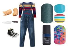 """""""Guess the horror movie - Jamberry Nails"""" by kspantonjamon on Polyvore featuring beauty, Betty Barclay, Converse and Wüsthof"""