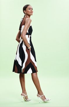 A great look for the special place on your trip. kate spade new york crepe dress  accessories