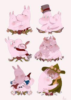 Moomin loves you