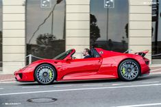 Red Porsche 918 Spyder in Monaco [OC] : carporn Exotic Sports Cars, Exotic Cars, National Car, Porsche Panamera, Best Luxury Cars, Porsche Cars, Latest Cars, Car In The World, Expensive Cars