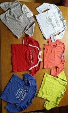 36 Teile Jungen Baby Bekleidungspaket Gr.74-80