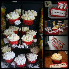 movie themed birthday party
