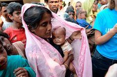 「我很驚,我不知道我的女兒會活下去或死亡,我是她的母親,但沒有事可以做。」緬甸若開邦爆發暴力衝突個多...