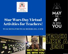 A Virtual Star Wars Day for your Students! – Teaching the Teacher