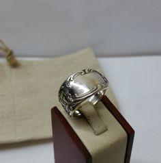 200 mm Besteckschmuck Silberbesteck Ring von BesteckschmuckBaron