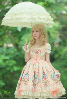 Upcoming ❤☼☁~Sunday Picnic~❤☼☁ theme Lolita dress, do you like it?