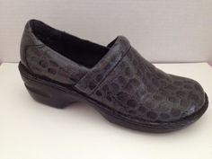 BOC Born Shoes Womens Size 8.5 M Black Clogs Margaret 8 1/2 EU 40 Synthetic #Brn #Clogs #WeartoWork