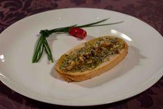 Parfait Croissant (Jantar) Brusqueta de gorgonzola, fio de mel e nozes