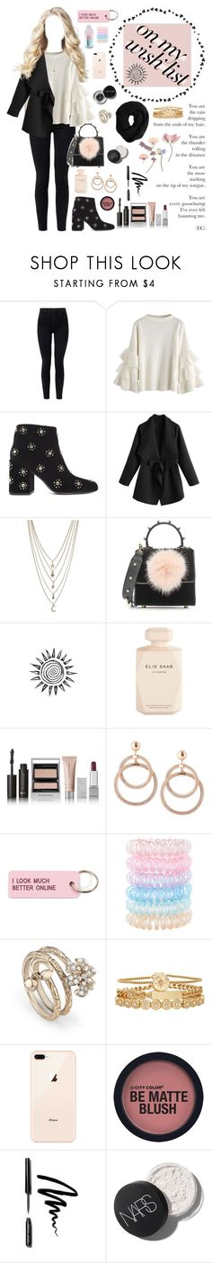 """#PolyPresents: Wish List"" by bia-monteiro-98 ❤ liked on Polyvore featuring J Brand, Senso, Ettika, Les Petits Joueurs, Elie Saab, Burberry, Various Projects, Accessorize, Gucci and Treasure & Bond"
