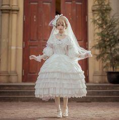 ZJ Story -Four Seasons.Winter- Lolita OP Dress