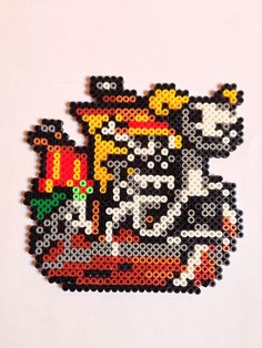Going Merry - One Piece perler beads by Nathan Tardy