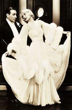 George Raft and Carole Lombard