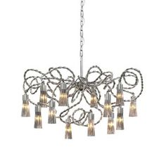 """Sultans of Swing Oval Chandelier by Brand Van Egmond 