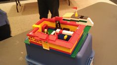 """Everything is awesome!"" Lego Program, Summer 2014, Central Branch, Youth Wing, Brooklyn Public Library."