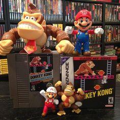 """#mariomonday Classic Donkey Kong! #retrogaming #gamersunite #mario #donkeykong #retrocollective #gba #nes #igersnintendo #nintendo #ninstagram #nintendolife"" Photo taken by @shauntendo64 on Instagram, pinned via the InstaPin iOS App! http://www.instapinapp.com (04/13/2015)"