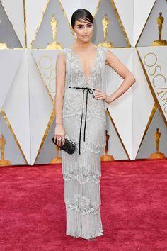 Olivia Culpo in Marchesa attends the Oscars 2017