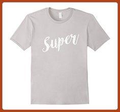 Mens Women's Summer Street Printed Top Funny T Shirt Short Sleeve 2XL Silver - Funny shirts (*Partner-Link)