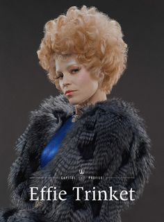 Its a big big day with Effie Trinket's victor tour itinerary