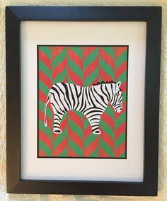 Fun Zebra Print by NightBirdsDesign on Etsy