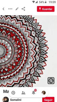 Mandala Book, Mandala Art Lesson, Mandala Drawing, Indian Patterns, Zen Art, Mandala Design, Pattern Art, Pretty Pictures, Art Lessons