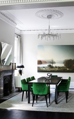 Give your home matching style and functionality with elegant dining room sets. Browse our image gallery of sets with tables and chairs for dining room. Luxury Dining Room, Elegant Dining Room, Dining Room Sets, Dining Room Design, Dining Tables, Side Tables, Low Back Dining Chairs, Mixed Dining Chairs, Table Lamps
