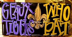 Saints & LSU