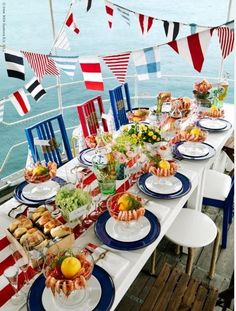 Anchors away table