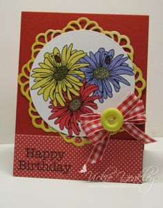 F4A377 Daisies and Ladybugs vky