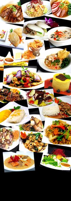 Thai Food \\ photo only... no recipes \\ food photography ideas for cookbook collage page etc