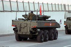 Бронетранспортер ВПК-7829 на унифицированной колесной боевой платформе Бумеранг.