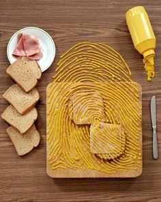 Mustard fingerprint!