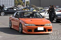 Nissan Silvia S14 [Orange]