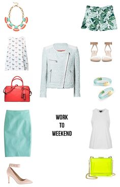 Robinson | Style : WORK TO WEEKEND: MINT MOTO JACKET