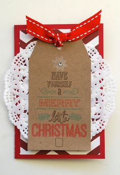 Silhouette Christmas Gift Tags from Me and My Thoughts with Cari Locken