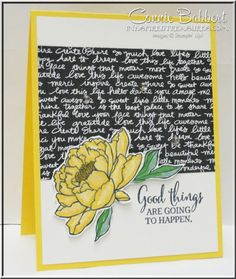 You've Got This, flowers, Stampin' Up!, #stampinup, more details by Connie Babbert, www.inkspiredtreasures.com