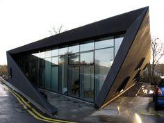 Centro Maggie, em Kirkcaldy, Escócia da arquiteta Zaha Hadid.