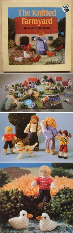 Knitted Farmyard Pattern Book. I have this!