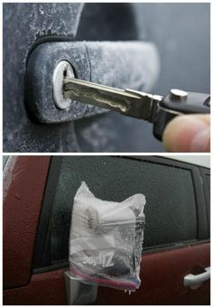 20 Clever Winter Hacks That Everyone Should Know 11. Bubble Wrap Windows For Insulation  (Image credit: builditsolar.com) Insulate your home in a cost-effective way using bubble wrap. If you have any leftover wrap from moving into your home, cut the sheets of bubble wrap into strips and spray them with water to apply to the windows. Draw the blinds, and you will feel the heat wrapping you up like a blanket instead of leaving the window. 12. Ziplock The Car Mirrors To Prevent Frost (Image…