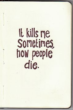 the book thief - quote by Death