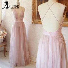 Light Pink Prom Dress Simple http://www.top-dresses.com/light-pink-prom-dress-simple-4376/