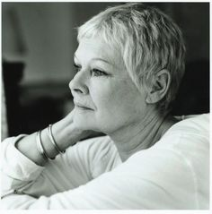 Judi Dench - one of our celebrities who has designed and created a rocking horse for our charity auction at Sotheby's