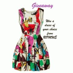 Win a Dress of Your Choice ^_^ http://www.pintalabios.info/en/fashion_giveaways/view/en/1656 #International #Fashion #bbloggers #Giveaway