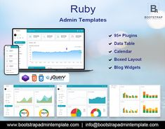 RubyX comes with the high functionality for your admin dashboard to manage all the things. . . .  . . . #Bootstrap4AdminDashboard #CMS #Corporate #crmtemplate #CSS3 #Dashboard #hrmdashboard #HTMLTemplate #webkit #envatotemplate #uiwebkit #ui #webapptemplate #webapp #uiframework #sidebars #ecommercetemplate #Modern #webapptemplates #multipurposethemes