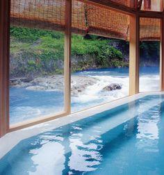 Ohyu hot spring, Niigata, Japan